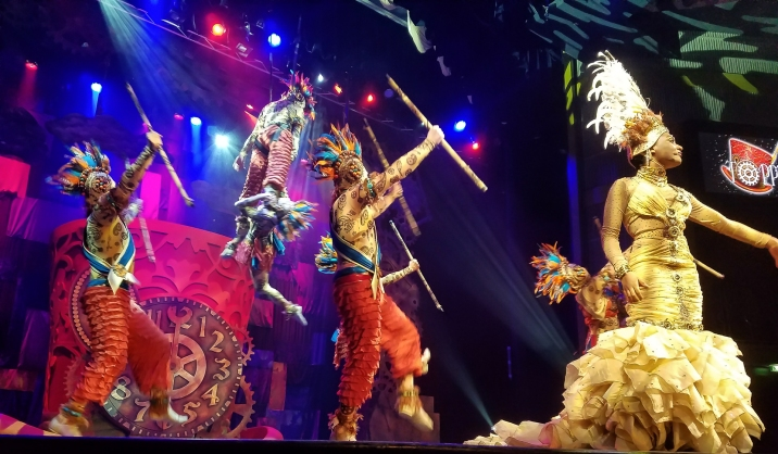One of our nightly shows